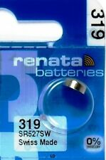 319 RENATA SR527SW SR527 527 WATCH BATTERIES New Authorized Seller