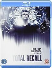Blu Ray TOTAL RECALL. Colin Farrell. New sealed with slip cover.