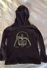 Star Wars Boys Darth Vader Glow In The Dark Kohls Hoodie T-Shirt (Size 5-6)