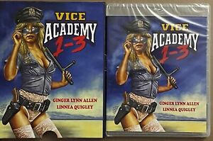 NEW VICE ACADEMY 1-3 BLU RAY 2 DISC SET + POSTER & SLIPCOVER OOP VSA EXCLUSIVE