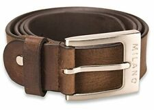 CA2 Mens Real Genuine Leather Belt Black Brown White 1.5 Wide S-XL Casual Jeans