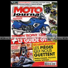 MOTO JOURNAL N°2008 VICTORY 1700 VISION TRIUMPH 1200 TROPHY YAMAHA FJR 1300 2012