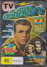 FLASH GORDON  VOL 1   - DVD - 3 CLASSIC EPISODES - NEW