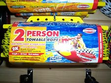 sportstuff Water tube tow rope one or two person Yellow/Black