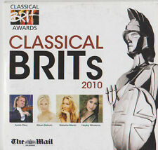 CLASSICAL BRITS 2010 PROMO CD RUSSELL WATSON ONLY MEN ALOUD ANDRE RIEU PRIESTS