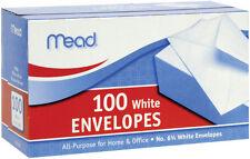 Mead Envelope 100 count packs 6 1/2 x 3. 5/8 -Case of 24 -2400 total envelopes