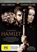 Hamlet (Special Edition DVD, 2007) Mel Gibson Movie. Region 4 Australian