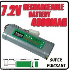 Pack 7.2V 4600mAh Accu Battery Rechargeable TAMIYA RC - SUPER POWER -