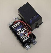 TELEMECANIQUE LE1D255 STARTER BOX WITH LE1 D25 10 CONTACTOR LR2 D13