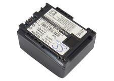 BATTERIA agli ioni di litio per Canon VIXIA FS11 FS10 Flash Memory Camcorder VIXIA HF10 NUOVO