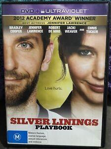 SILVER LININGS PLAYBOOK - USED REGION 4 DVD