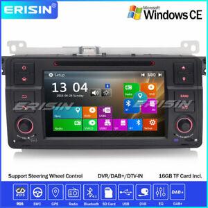 Car Stereo SatNav GPS Bluetooth DAB+CD DVD 3G BMW 3 Series E46 320 Rover75 MG ZT