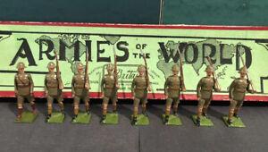 Britains: RARE Boxed Set 1293 - Durban Light Infantry. c1939