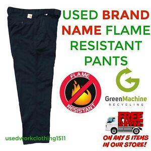 Flame Resistant FR Work Pants Used Cintas Redkap Unifirst G&K etc