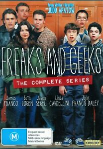 FREAKS AND GEEKS The Complete Series. James Franco. 6 x R4 DVDs