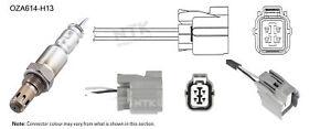 NGK NTK Oxygen Lambda Sensor OZA614-H13 fits Honda Integra 2.0 (DC5)