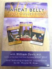 WHEAT BELLY 3 DVD Collection Set Health Grains Diet Weight Loss Boost Energy NEW