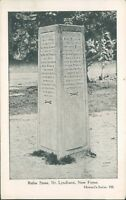 Postcard Hampshire The Rufus stone Nr Lyndhurst New Forest unposted