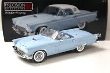 1:18 PRECISION 100 FORD THUNDERBIRD 1957 blue new chez Premium-modelcars