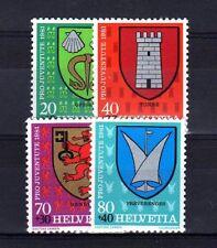 SUISSE SWITZERLAND Yvert  n° 1139/1142 neuf sans charnière MNH