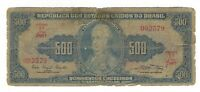500 Cruzeiro Brasilien 1961 C046 / P.172a - Brazil Banknote