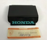 Coperchio posteriore - Cover Rr - Honda NSR125F NOS: 77313-KY4-890ZA