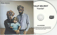 PHILIP SELWAY Familial 2010 UK numbered promo test CD Bella Union Radiohead