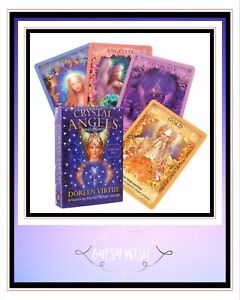 Crystal Angels Tarot by Doreen Virtue BRAND NEW (Electronic Guidebook)