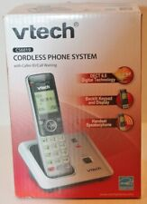 VTECH *CS6619* CORDLESS PHONE SYSTEM WITH CALLER ID CALL WAITING -NIB