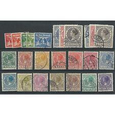 Nederland  144-162, 163-165A, 163-165B  PRACHTIG  VFU/gebr  CV 40 €
