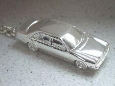 Schlüsselanhänger Mersedes W210 W210 versilbert (4998)