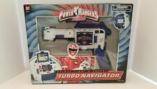 BANDAI Power Rangers Turbo Deluxe Light & Sound Turbo Navigator COMPLETE IN BOX!