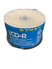 Dynex CD-R 52X 80 Min 700MB 50 Pack Recordable Compact Discs New