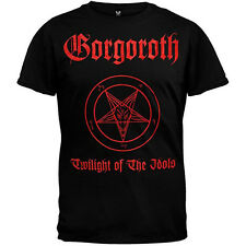 New Gorgoroth Twilight of The Idols Pentagram Satan Shirt (SMALL) badhabitmerch