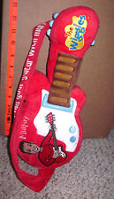 WIGGLES plush guitar Murray Cook toy doll kids 2007 children's TV show