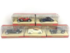 Vintage Lesney Matchbox Models Of Yesteryear Scale Die Cast Model Cars Lot of 5