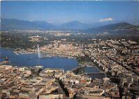 BR5160 Geneve La Ville la rade et le Mont Blanc switzerland