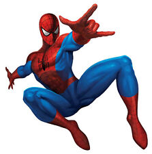 Spiderman Action Pose Wall Sticker Decal Remove & Reuse Bedroom Home Decor