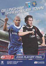PLAY OFF FINAL 2009 LEAGUE 2 TWO GILLINGHAM SHREWSBURY