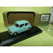 Moris Mini 1000 Mk2 Super de luxe 1967 Bleu et toit Blanc vitesse L044 a 1 43