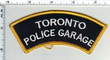Toronto Police Garage (Canada) Shoulder Patch from the 1980's