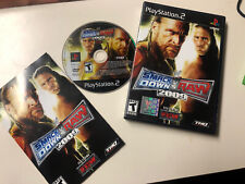 WWE Smackdown Vs Raw 2009 Complete with Manual PS2 Playstation 2 TESTED WORKS