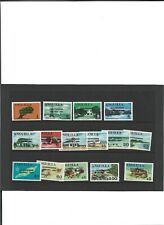 A SET OF 1969 UNMOUNTED MINT STAMPS FROM ANGUILLA