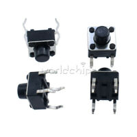50PCS Miniature Micro Touch Push Button Switch Momentary Tactile Tact 6x6x6 mm