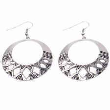 Alloy Silver Coloured Fashion Earrings