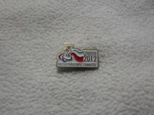 NPC Polish Paralympic Committee for Olympic Games London 2012 pin