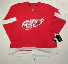 DETROIT RED WINGS size 60 = sz 3XL  ADIDAS NHL HOCKEY JERSEY Aeroready Authentic