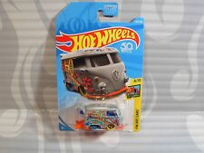 2018 HOT WHEELS ''HW ART CARS'' #353 = KOOL KOMBI = GRAY  us