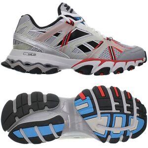 Reebok DMX Trail Shadow Grau Rot Blau Herren Laufschuh Running Joggingschuh NEU