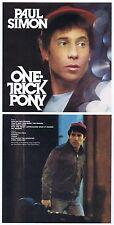"""Paul simon """"One-tour de poney"""" de 1980! 10 chansons plus quatre bonustracks! nouveau CD!"""